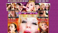 Real Cum Swallows