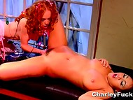 Mesmerizing angel Charley Chase going horny together with her marvelous femme