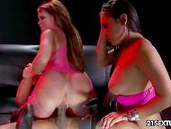 Impressive pornstars Nikki Delano and Adriana Luna enjoy Asian bloke's dick