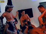 Russian students organized Halloween party that turned into chaotic group fucking