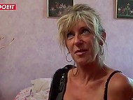 Χαμογελώντας γαλλικά ώριμη δεν αρνείται ποτέ μια ευκαιρία για να με γαμήσει μια νεαρή θραυστήρα