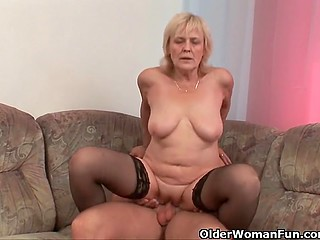 Younger days are gone but grannies have rich sexual experience and take advantage of it