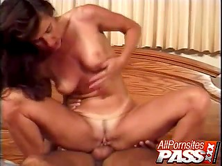 Hotties has ass filled with cock and rubs clitoris to reduce painful sensations for the sake of satisfaction