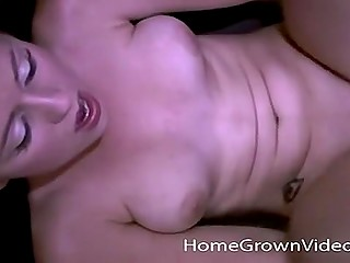 Guy makes girl suck him and spread legs to unite her shaved pussy with his hard cock