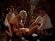 Wonderful crazy orgy with famous actors and actresses in this amazing movie